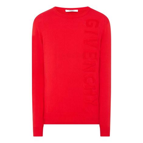 Vertical Logo Sweater, ${color}
