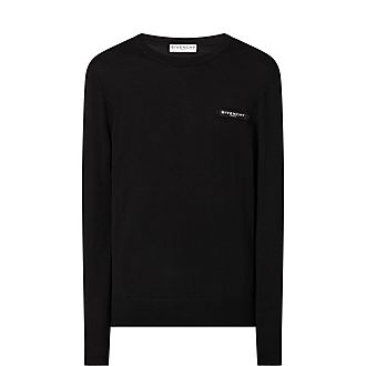 Knitted Logo Tab Sweater