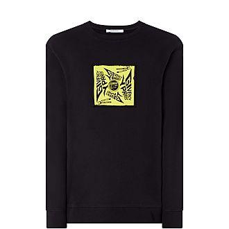 Vinyl Graphic Sweatshirt