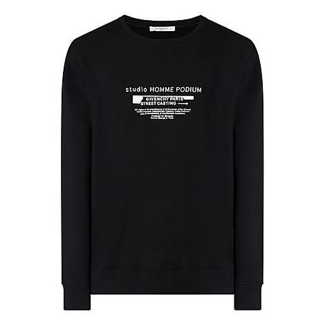 Studio Homme Crew Neck Sweatshirt, ${color}