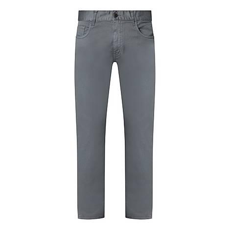 Drill Cotton Trousers, ${color}