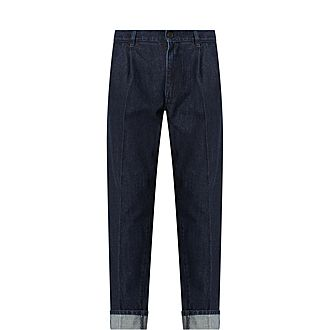 Selvedge Peat Jeans