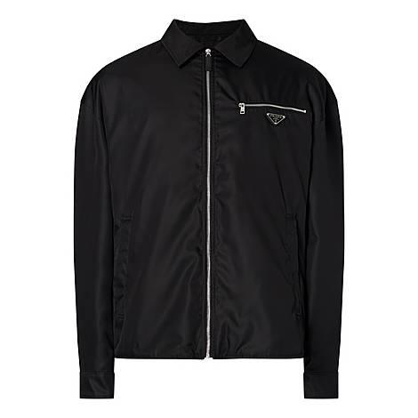 Casual Gabardine Jacket, ${color}