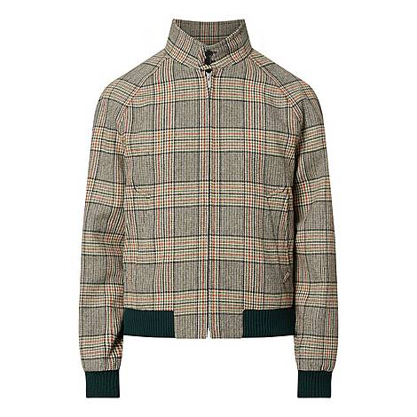 Checked Bomber Jacket, ${color}