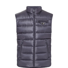 Quilted Gillet Down Jacket