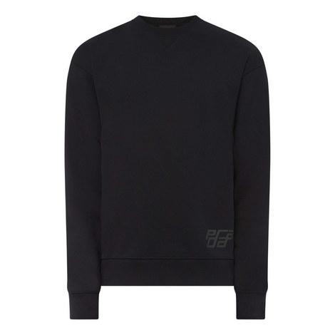 Fluro Stripe Sweatshirt, ${color}