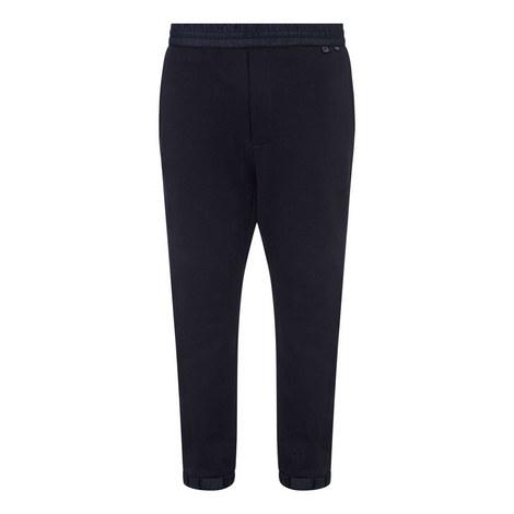Contrast Waist Sweatpants, ${color}