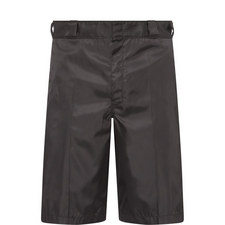 Gabardine Shorts