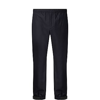 Stretch Flannel Casual Trousers