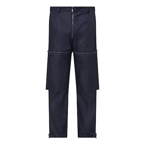 Nylon Zip Trousers, ${color}