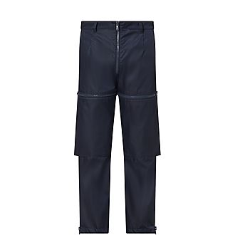 Nylon Zip Trousers