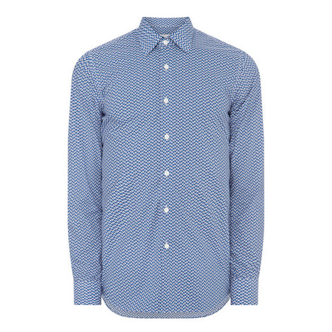 Geo Print Shirt, ${color}
