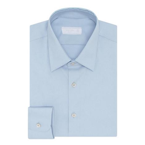 Poplin Stretch Shirt , ${color}