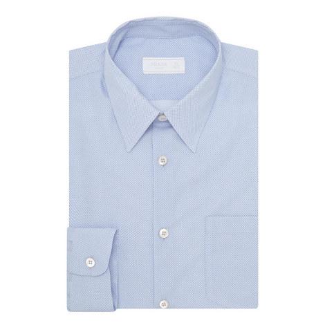 9b1525635 Cotton Poplin Micro-Print Shirt