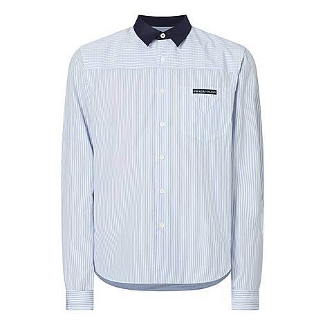 Striped Check Shirt, ${color}