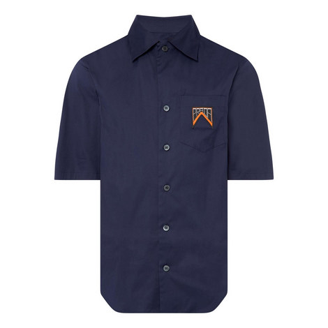 Logo Poplin Shirt, ${color}