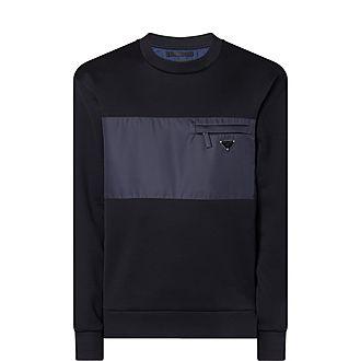 Technical Gabardine Sweatshirt