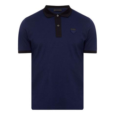 Bicolour Polo Shirt, ${color}