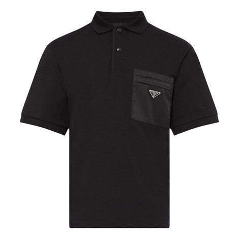 Badge Pocket Polo Shirt, ${color}