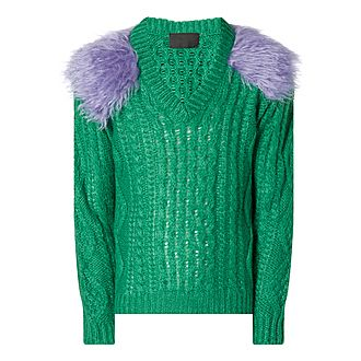 Mohair Shoulder Sweater