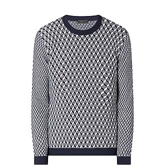 Technical Jacquard Sweater