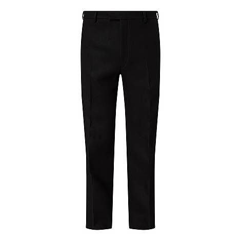 Black Wool Trousers, ${color}