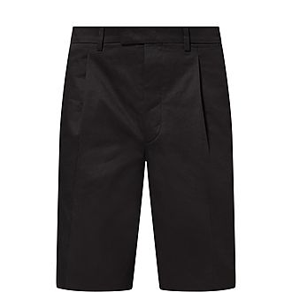 Wide Chino Shorts