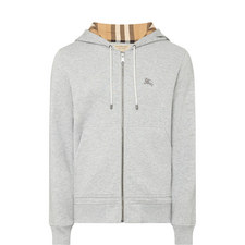 Fordson Check Zip-Up Hoodie