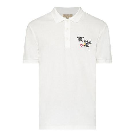 Triple Archive Logo Pique Polo Shirt , ${color}