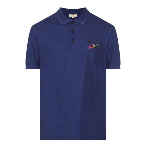Triple Logo Polo Shirt, ${color}