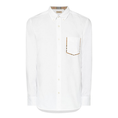 Harry Check Pocket Oxford Shirt , ${color}