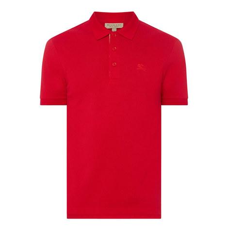 Hartford Check Placket Polo Shirt, ${color}