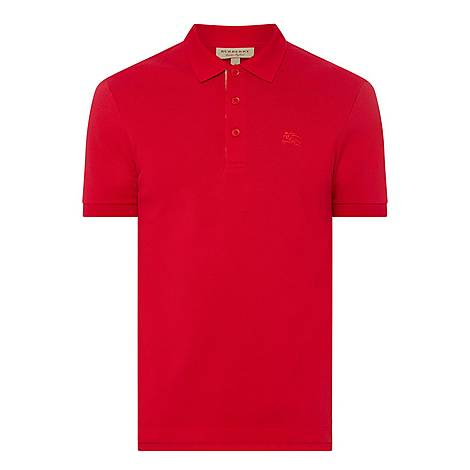 Hartford Check Placket Polo Shirt, ${color}