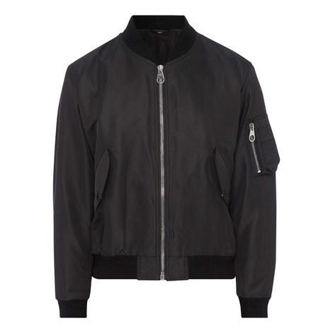 Crest Logo Bomber Jacket, ${color}