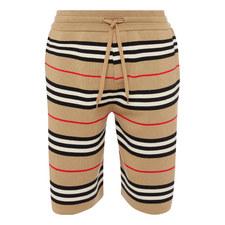 Woven Stripe Shorts