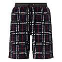 Keaton Checked Fleece Shorts, ${color}