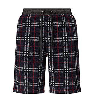 Keaton Checked Fleece Shorts