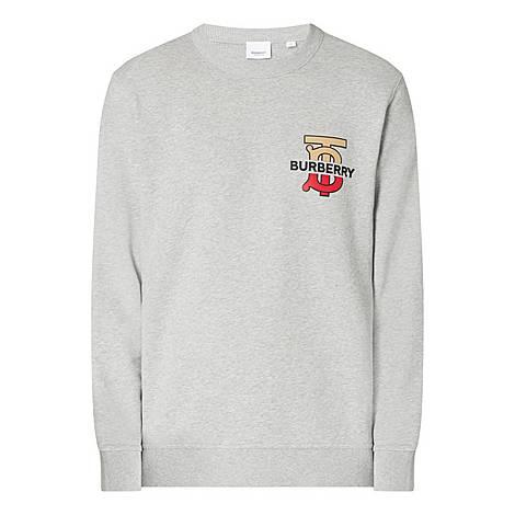 Classic Crew Neck Sweatshirt, ${color}