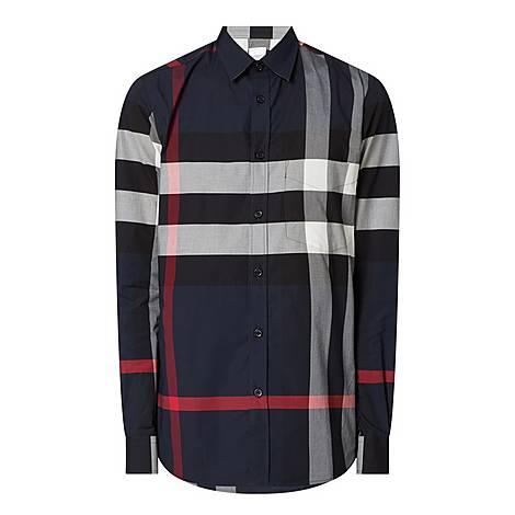 Somerton Large Check Shirt, ${color}