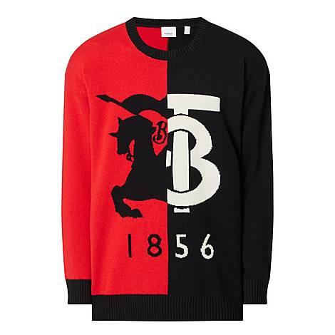 Carver Logo Cashmere Sweater, ${color}