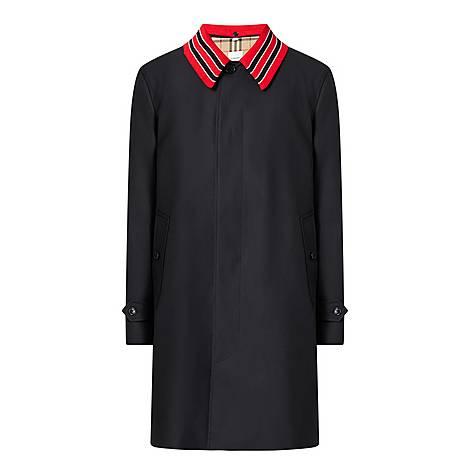 Pimlico Contrast Collar Overcoat, ${color}