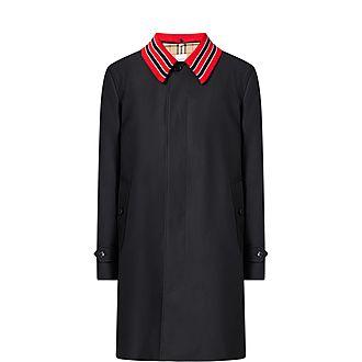 Pimlico Contrast Collar Overcoat