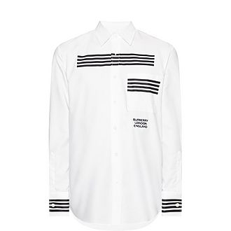 Graphic Stripe Shirt
