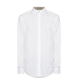 Serj Check Cuff Shirt