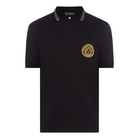 Greca Collar Polo Shirt, ${color}