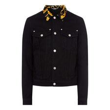 Baroque Collar Denim Jacket