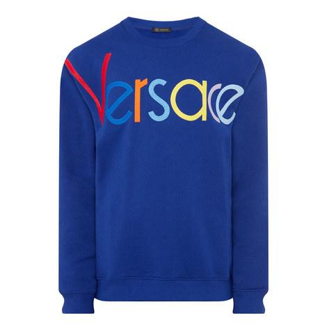 Multicoloured Logo Sweatshirt, ${color}