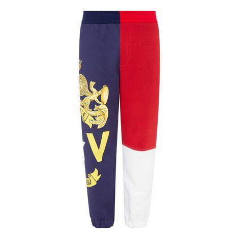 Colour-Blocked Sweatpants, ${color}