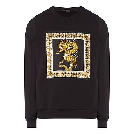 Dragon Crew Neck Sweater, ${color}