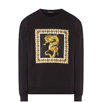 Dragon Crew Neck Sweater